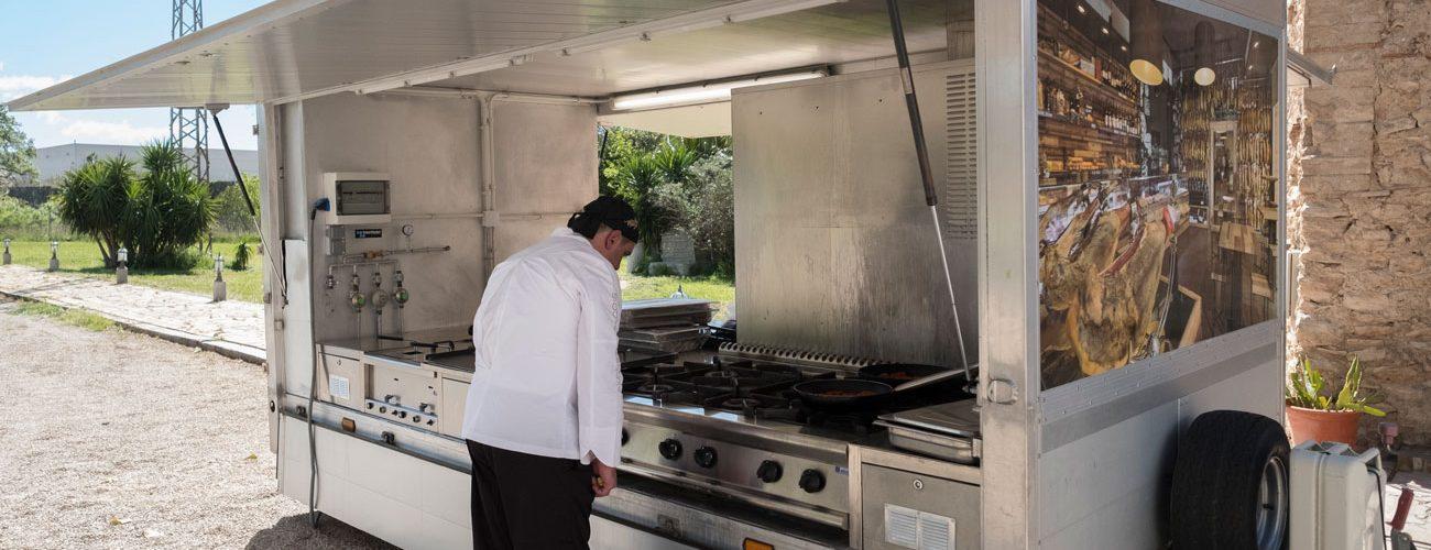 Caravana cuina mòbil